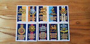 Full Set Gallagher's Army Badges  V/good Condition.  B1
