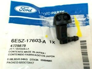 2006-2007 Ford Fusion LH Driver Side Windshield Washer Nozzle Spray Jet OEM