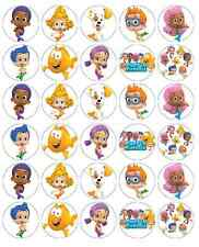 Bubble Guppies Cupcake Toppers Edible Wafer Paper BUY 2 GET 3RD FREE!
