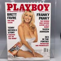 Playboy Magazine November 1997 Inga Drozdova Suzen Johnson
