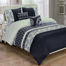 Chelsea  5-PC 100% Egyptian Cotton Duvet Cover Set, Super Soft and Cozy Bedding