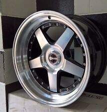"17"" BLANK OS FORMULA SPOKE  ALLOY WHEELS suit MOST OLD SCHOOL CARS,FORD, HOLDEN"