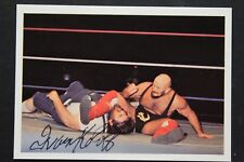 Ivan Koloff (d.2017) Russian Bear Autograph Signed #131 NWA Card JSA Authentic