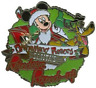 Disney Pin 80651 DLR Reindeer Round-Up 2010 Santa Mickey Sled Pluto Bell LE #