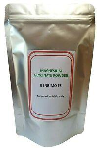 Magnesium Glycinate Powder,Multi Listing,UK Seller,Letterbox Friendly