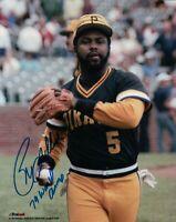 "Bill Madlock Signed 8X10 Photograph ""79 W.S. Champ"" Auto with Ball Pirates COA"