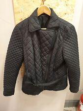 F&F Black Puffer Jacket Size UK 14