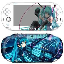 Skin Decal Stickers For PS Vita Slim PCH-2000 Series Hatsune Miku #09+Free Gift