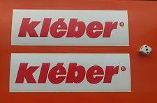 X2 Neumáticos Kleber Vintage 1970s Estilo Adhesivo 7-10 año Vinly tintas Eco Solvente