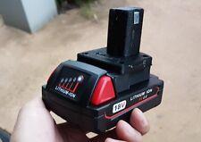 Milwaukee M18 battery ADAPTER to Ryobi One+ tool range 18v