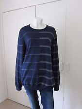 Reduced For Quick Sale - GENUINE MENS LYLE AND SCOTT PLACED STRIPE JUMPER SIZE L