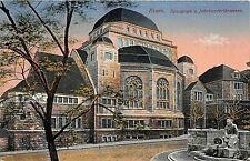 Postcard Germany Essen The Synagogue . . Judaica