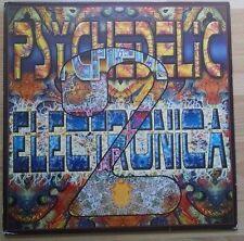 VA PSYCHEDELIC ELECTRONICA 2 2LP 1999 Psychic Deli Shakta Vibrasphere Orion Psy