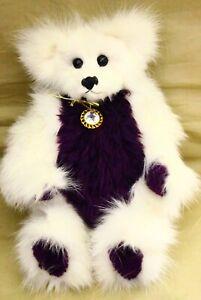 "Alive Again Bears OOAK Natural Fur artist Teddy Bear 15"" by Sherri Creamer Rare"