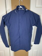 Peter Millar Mens Crown Sport Arendall WaterProof 3L Rain Jacket Blue Sz. Small