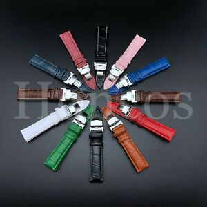 16-24MM LEATHER WATCH BAND STRAP-QUICK RELEASE FOR CITIZEN ECO DRIVE WATCH