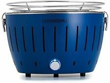 More details for small compact low smoke charcoal table grill power usb balcony boat smokeless uk