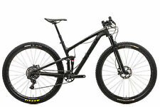 "2017 Trek Top Fuel 9.8 SL Mountain Bike 17.5in 29"" Carbon SRAM X01 11 Speed Fox"