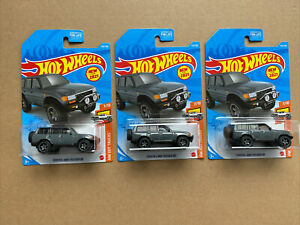 Hot Wheels New for 2021 Toyota Land Cruiser 80 lot of 3~FREE SHIPPING in the US!