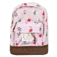 Men Women Girls Canvas WiFi Printing Backpack Shoulder School Bags Rucksacks Bag