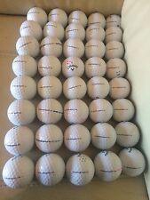 40 Callaway SUPERSOFT Pearl And A  Grade Golf Balls