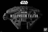 Star Wars Perfect Grade PG Model Kit 1/72 Millennium Falcon BANDAI in Brown Box!