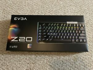 EVGA Z20 RGB Optical Mechanical Gaming Keyboard, RGB Backlit LED