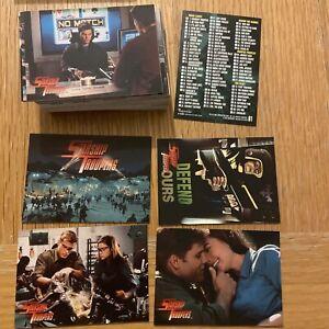 STARSHIP TROOPERS Inkworks Full Set of 81 Set Trading cards