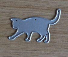 Metal Cutting Die - CAT PLAYING Walking Kitty Kitten (Pets)