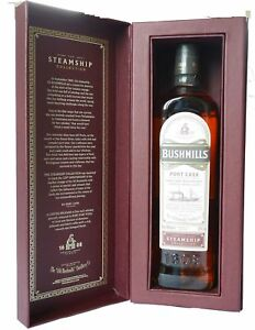 Bushmills Port Cask Reserve Single Malt Irish Whisky 0,7 L Steamship Collection