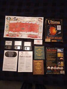 """Ultima Martian Dreams 3.5"""" CIB with map"""