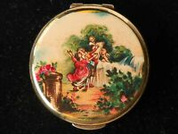 VINTAGE STRATTON OF ENGLAND VICTORIAN SCENE COMPACT