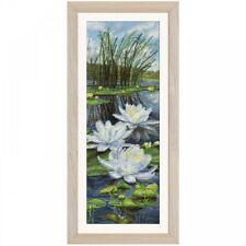 Counted Cross Stitch Kit NOVA SLOBODA - White lilies