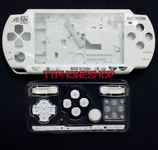 White Housing Faceplate Case Cover for PSP 2000 Slim