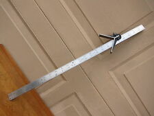 "24 "" L.S. STARRETT HARDENED BLADE WITH CENTER HEAD . VINTAGE TOOLS"