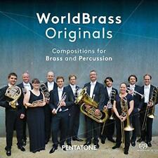 Worldbrass - Originals: Compositions For Brass And Percussion (NEW SACD)