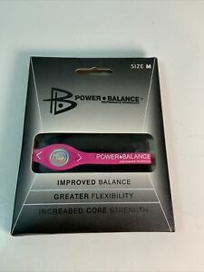 New, Original Power Balance Energy  Band/Bracelet, Pink. Medium