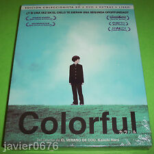 COLORFUL BLU-RAY + DVD + LIBRO NUEVO Y PRECINTADO