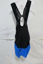 Louis Garneau CB Carbon Lazer Cycling Bib Men's XL Black/Blue Retail $179.95