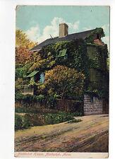 1910 NANTUCKET HOUSE Island MASSACHUSETTS PC New England News POSTCARD Ack