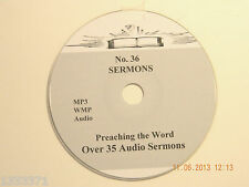 No 36,  Over 35  Audio Sermons, MP3 one CD