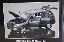 Mercedes M-Class 2011 grau-metallic 1:18 Minichamps neu & OVP