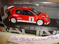 PEUGEOT 206 WRC 2003 TOTAL  1/43°  SOLIDO REF 1587