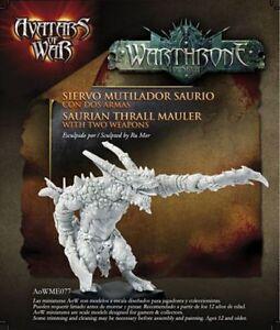 AVATARS OF WAR - AOW77 Saurian Thrall Mauler *Warhammer Style*