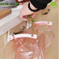 2Pcs/Set Rubbish Bag Hanging Cupboard Door Storage Racks Holder Kitchen Tools