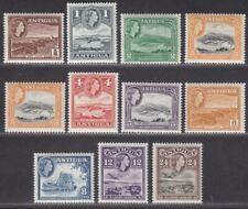 Antigua 1963 Queen Elizabeth II Set Mint SG149-158 cat £18