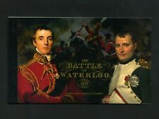2015 Dy14 Battle of Waterloo Prestige booklet - No Stamps