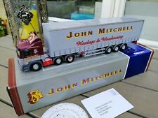 1:50 CORGI JOHNMITCHELL MAN  TRUCK & TRAILER  CURTAINSIDE  NEW OVP