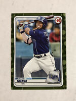 WANDER FRANCO 2020 Bowman Prospects CAMO SP RC PARALLEL #BP-1! CHECK MY ITEMS!