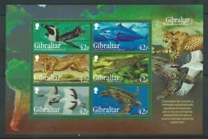 Gibraltar 2013, Endangered Animals (3rd Series) sgMS1537 MNH